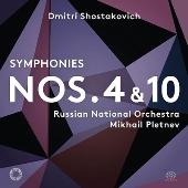 ショスタコーヴィチ: 交響曲第4&10番