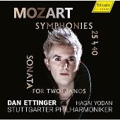 モーツァルト: 交響曲第25&40番、2台のピアノためのソナタ KV.448