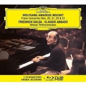 モーツァルト: ピアノ協奏曲第20番、第21番、第25番、第27番 [2CD+Blu-ray Audio]<限定盤>