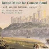 ロイヤル・エア・フォース・セントラル・バンド/British Music for Concert Band - Holst, Vaughan Williams, Grainger [RRC1326]