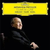 Menahem Pressler - Clair de Lune - Debussy, Faure, Ravel
