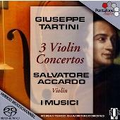 サルヴァトーレ・アッカルド/Giuseppe Tartini: 3 Violin Concertos [PTC5186137]