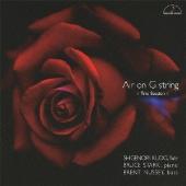 工藤重典/G線上のアリア フルート、ピアノ&ベースによるトリオ・セッション [MM-2117]