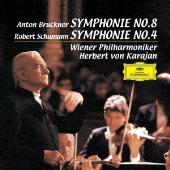 ブルックナー:交響曲第8番/シューマン:交響曲第4番 [2UHQCD]<限定盤>