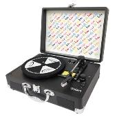 hide Vinyl Motion Portable Suitcase Turntable<完全受注生産>