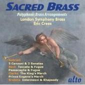 ロンドン・シンフォニー・ブラス/Sacred Brass -Polyphonic Brass Arrangements: J.S.Bach, G.Gabrieli, J.Clarke, etc / Eric Crees(cond), London Symphony Brass [ALC1027]