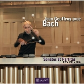 ジャン・ジェフロワ/J.S.Bach: Violin Sonatas & Partitas BWV.1001-BWV.1006 (for Marimba) [DSK11088]