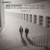 ベートーヴェン: ヴァイオリン・ソナタ第1-4番
