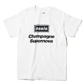 Champagne Supernova 半袖T-shirt (White)/Sサイズ