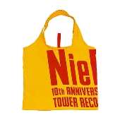 NieR 10th Anniversary × TOWER RECORDS エコバッグ イエロー