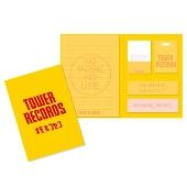 TOWER RECORDS ブック型付箋メモ