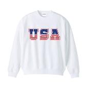 WTM オリジナルロゴスウェット USA M