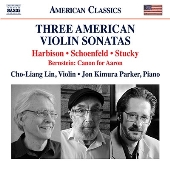 3つのアメリカのヴァイオリン・ソナタ