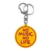 タワレコ ラバーキーホルダー(NO MUSIC, NO LIFE.)