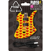 hide MODEL GUITAR(YELLOW HEART ver.)PLAYERS MOBILE BATTERY CHARGER