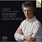 セルゲイ・エデルマン/リスト: ピアノ・ソナタロ短調; シューベルト: 幻想曲「さすらい人幻想曲」D.760 Op.15 [EXCL-00038]