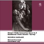 モーツァルト: ヴァイオリン協奏曲第4&5番