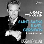Saint-Saens, Ravel, Gershwin - Piano Concertos