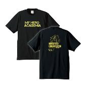 僕のヒーローアカデミア × TOWER RECORDS T-shirts ブラック Mサイズ