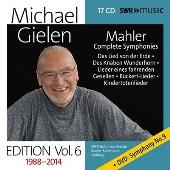 Michael Gielen Edition Vol.6 - Mahler: Complete Symphonies, Das Lied von der Erde, etc [17CD+DVD]