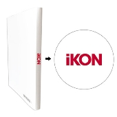 iKON × TOWER RECORDS A4クリアファイル収納ホルダー