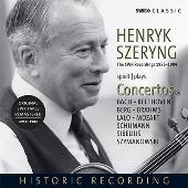 ヘンリク・シェリング、協奏曲を弾く