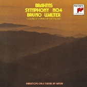 ブルーノ・ワルター/ブラームス:交響曲第4番/ハイドン変奏曲 [Blu-spec CD2] [SICC-30005]