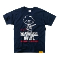 NO SAHASHI, NO LIFE. Tシャツ 《サハシくん》ロゴVer. Navy サイズM