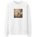 On A Stairway Crewneck Sweat Shirt/Lサイズ