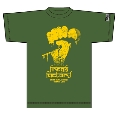 『G-FREAK FACTORY×TOWER RECORDS×ROLLING CRADLE』コラボT-shirt khaki (XLサイズ)