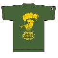 『G-FREAK FACTORY×TOWER RECORDS×ROLLING CRADLE』コラボT-shirt khaki (Sサイズ)