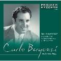 Carlo Bergonzi - Early Recordings