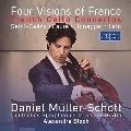フランスの4つの情景 - サン=サーンス、オネゲル、ラロ、フォーレ: チェロ協奏曲集