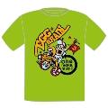 EGG BRAIN × TOWER RECORDS 「one make, music」 T-shirt XSサイズ