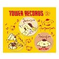 ポムポムプリン × TOWER RECORDS 缶バッジ 3個セット 2017