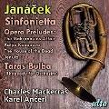 ヤナーチェク: シンフォニエッタ、オペラ「マクロプス事件」前奏曲、「カーチャ・カバノヴァー」前奏曲、他