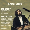 Beethoven : Piano Cobncerto no 5, Schubert : Piano Sonata no 17 / Lupu, Conta, Bucarest RO
