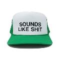 SOUNDS LIKE SHIT メッシュCAP GREEN