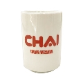 CHAI × TOWER RECORDS 茶い湯のみ