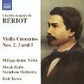 ベリオ:ヴァイオリン協奏曲 第2.3.5番