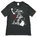 133 THE BAWDIES NO MUSIC, NO LIFE. T-shirt (グリーン電力証書付) Black/Lサイズ
