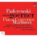 パデレフスキ&マルトゥッチ: ピアノ協奏曲集