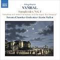 ヴァンハル:交響曲集 第4集
