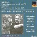 Brahms: Piano Concerto No.2 Op.83; Mozart: Symphony No.40 KV 550