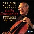Vivaldi, Tartini, C.P.E.Bach - Cello Concertos