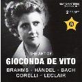 The Art of Gioconda de Vito - Brahms, Handel, J.S.Bach, etc