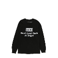 Don't look back in anger 長袖T-shirt (Black)/Mサイズ