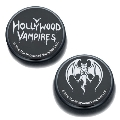 Hollywood Vampires Button Badges BLACK