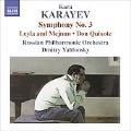 Karayev: Symphony No.3, Leyli and Medjnun, Don Quixote / Dmitry Yablonsky(cond), Russian Philharmonic Orchestra