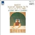 ハイドン:弦楽四重奏曲 作品74 アポニィ四重奏曲 第4~6番